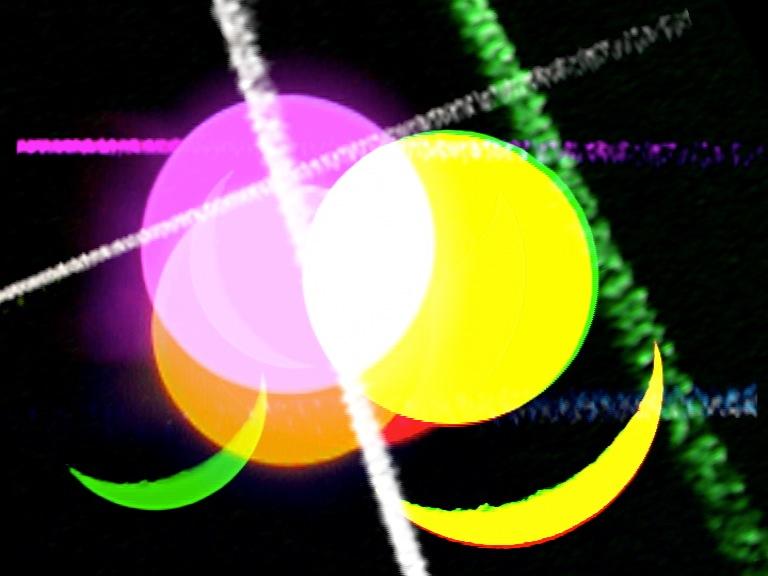 « La ronde de nuit » (fragment), installation vidéo, 2013